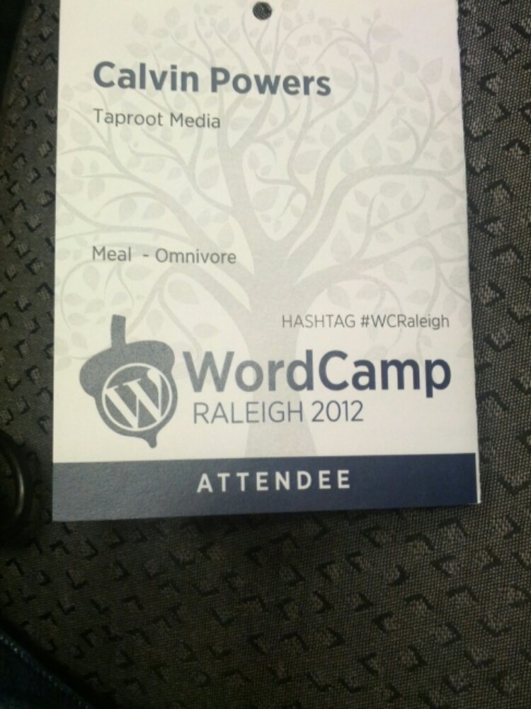 WordCamp Raleigh 2012