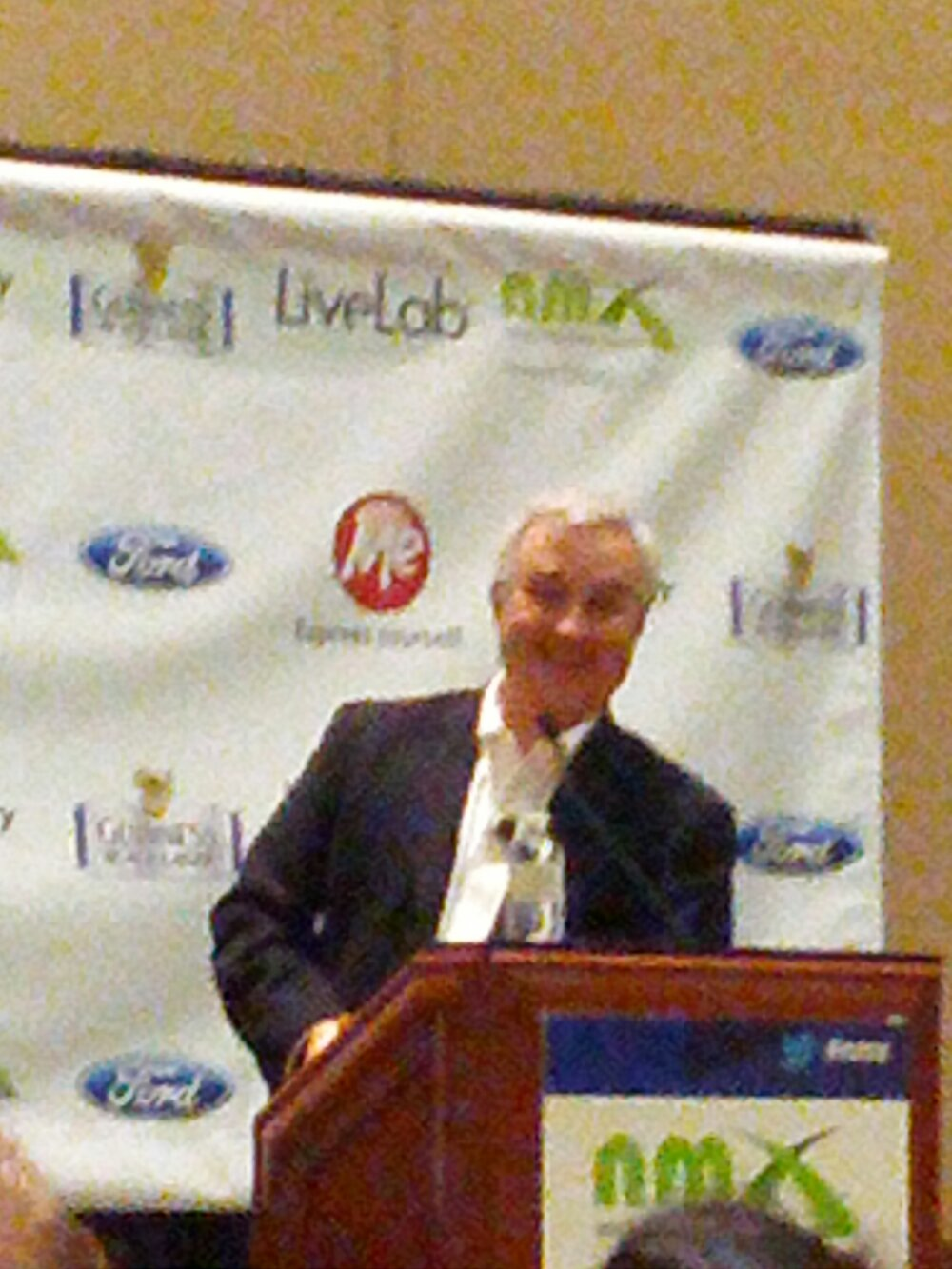 Leo LaPorte Hosting the Podcast Awards