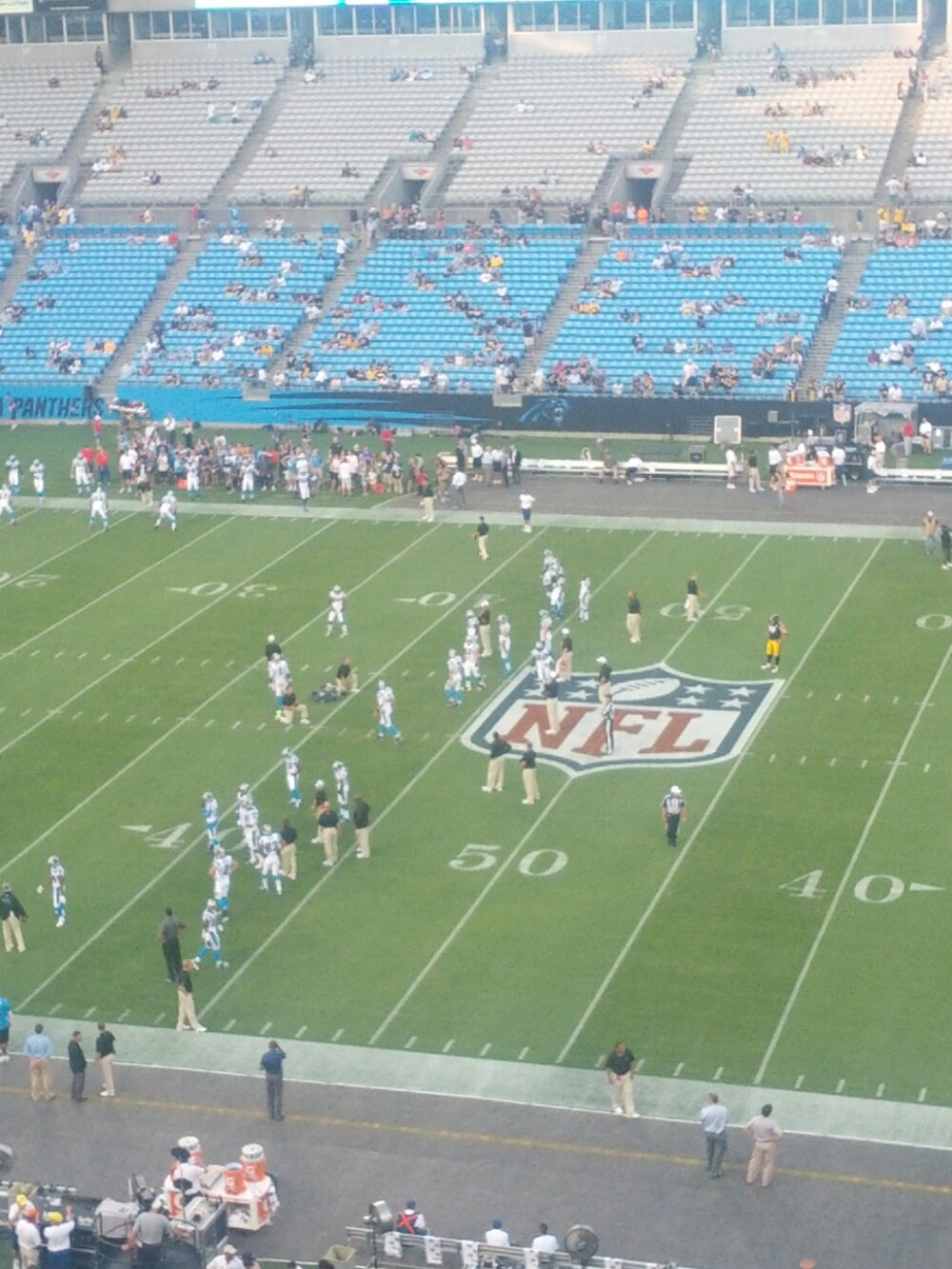 Panthers v. Steelers
