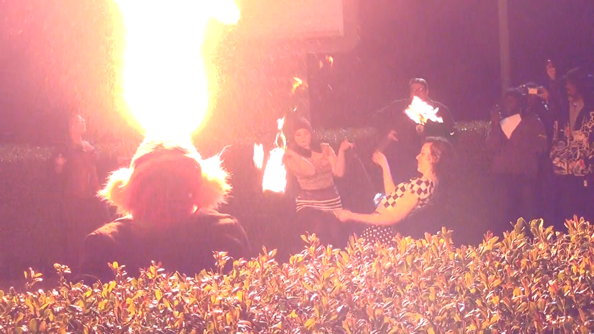 Fire Spinning at Chattacon 39
