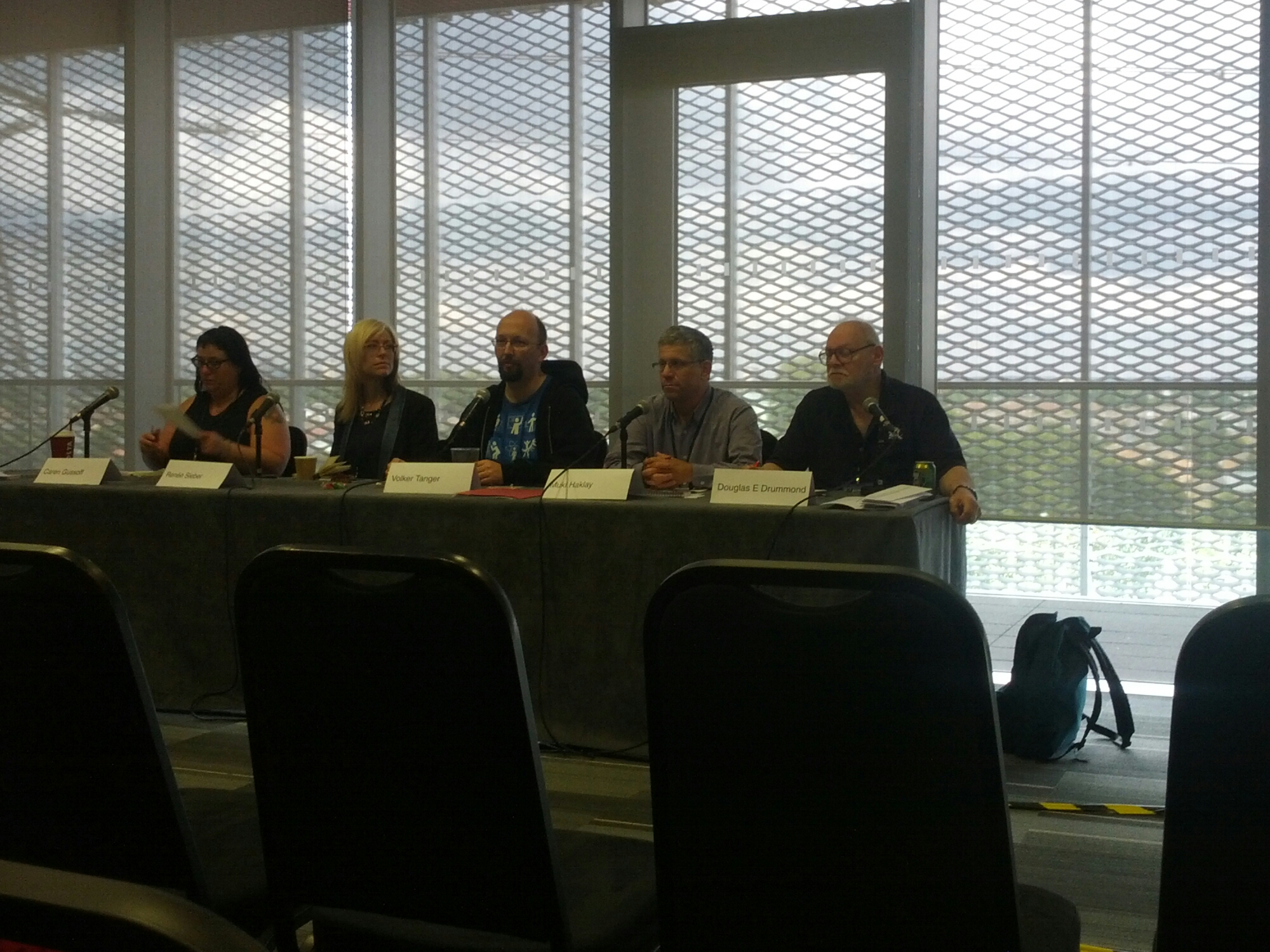 Citizen Science Panel at World Con