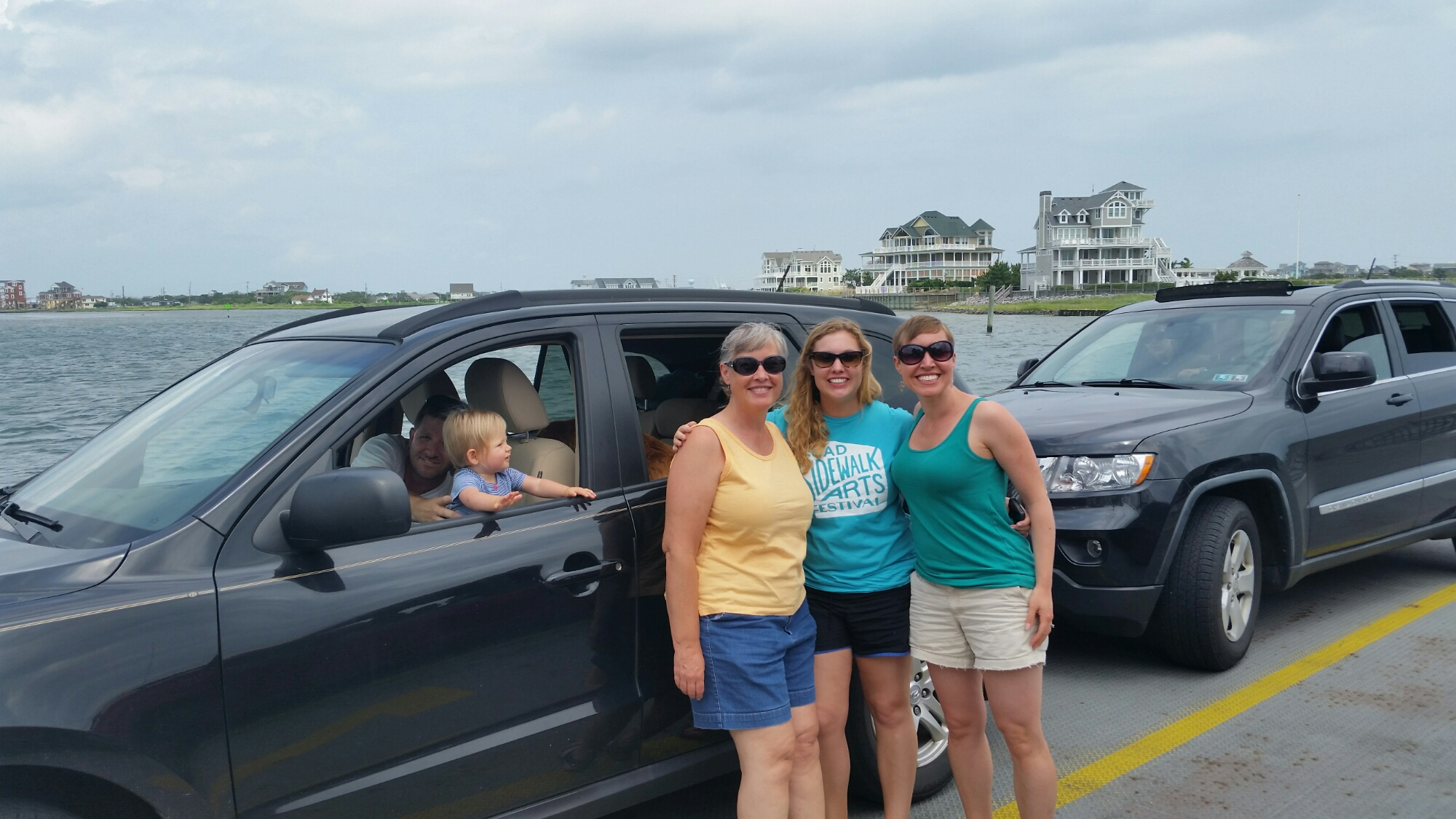 On the ferry to Ocracoke