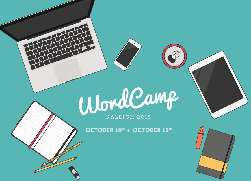 I'm speaking at Raleigh WordCamp 2015!