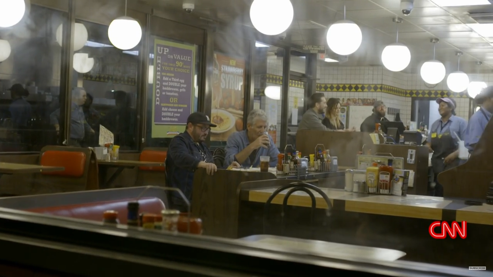 Anthony Bourdain's First Trip to WaHo