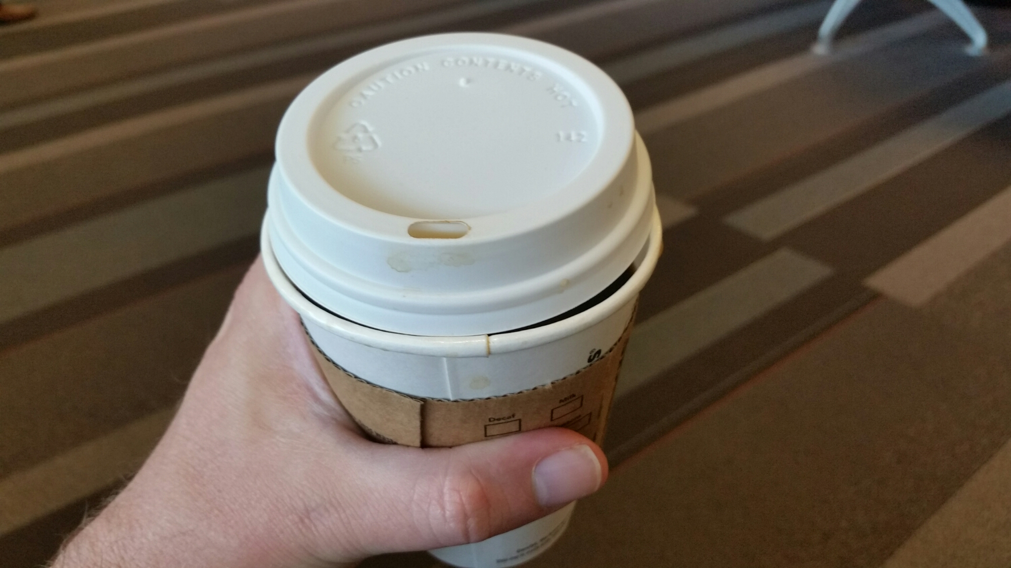 what's wrong with this coffee cup?