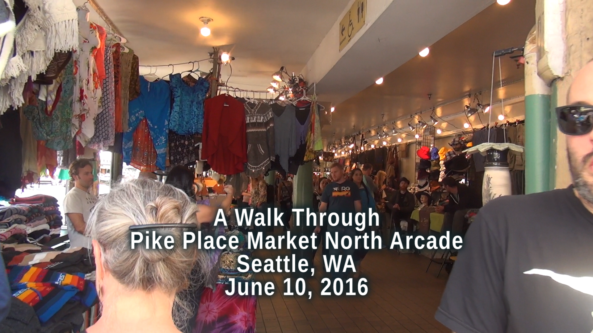 A walk through Pike Place Market