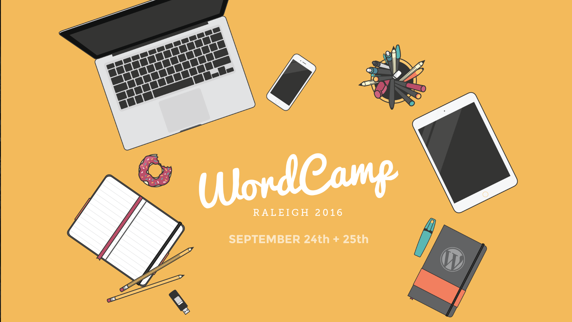 Calvin is speaking at WordCamp Raleigh 2016!