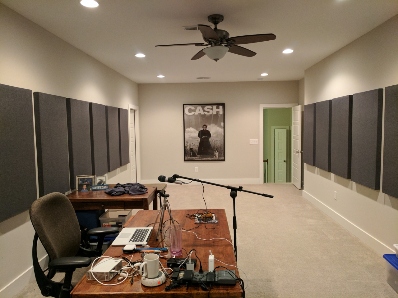 The Nexus streaming studio, phase 1