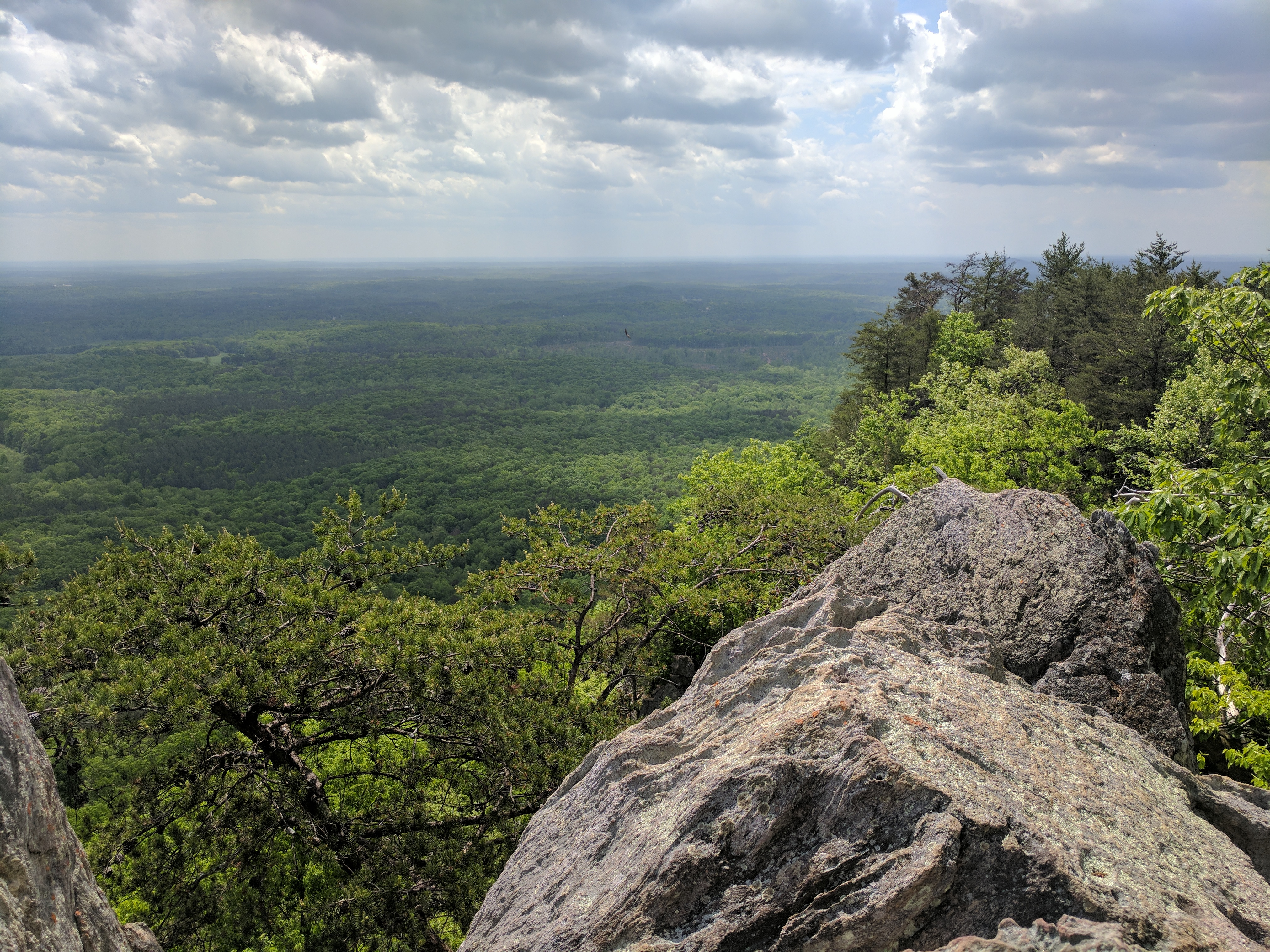 From the top of Crowther's Mountain