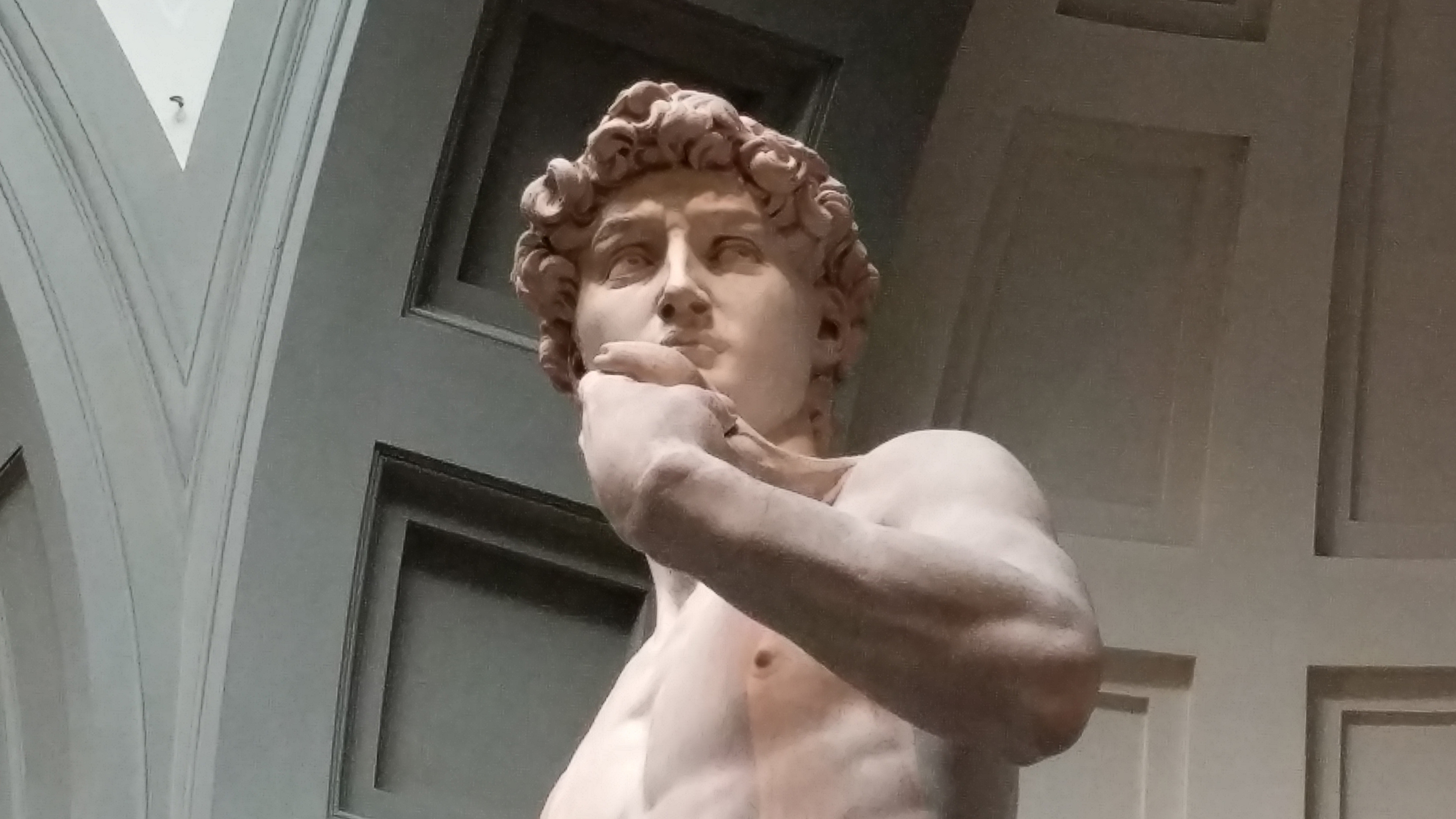 Thoughts on Michelangelo's David